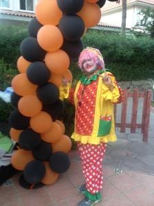 Amy the clown.